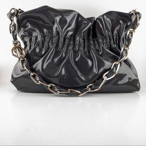 Stuart Weitzman Patent Leather Shoulder Bag